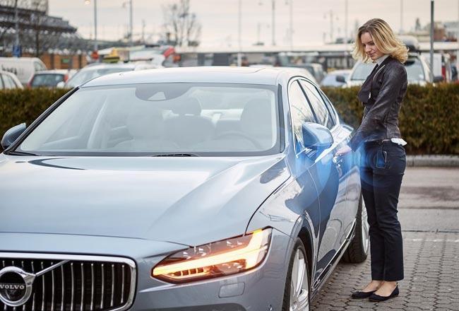 Цифровой ключ Volvo