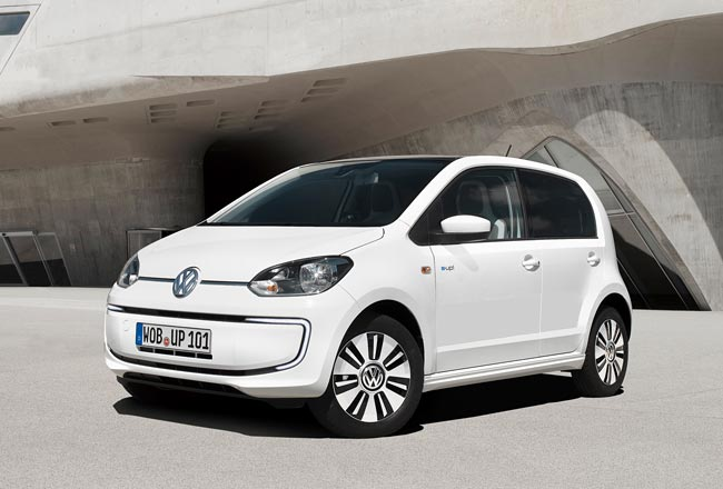 Электрический Volkswagen e-Up!