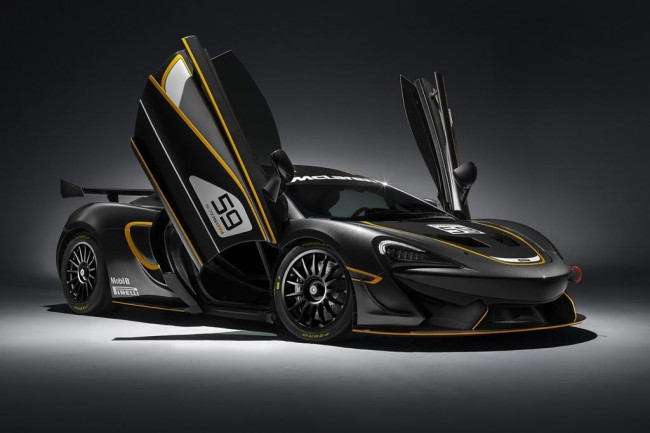 Гоночное купе McLaren 570S GT4