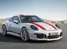 Фото нового Porsche 911 R