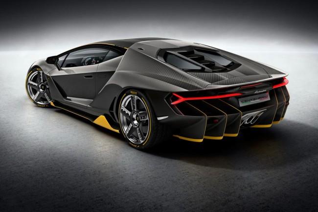 Lamborghini Centenario Coupe 2017