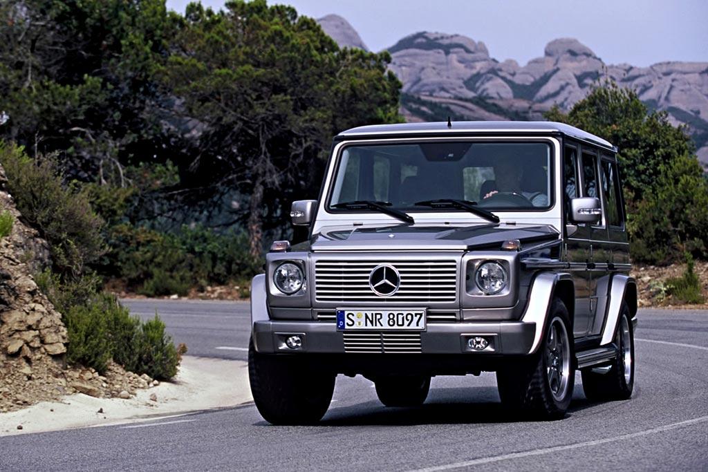 Mercedes G55 Kompressor V8 фото