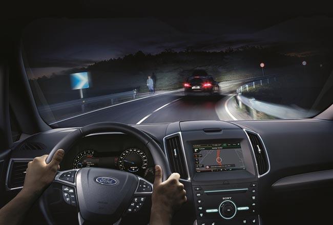 Система дальнего света Ford Glare-Free Highbeam