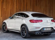 Новый Mercedes-AMG GLC63 Coupe фото