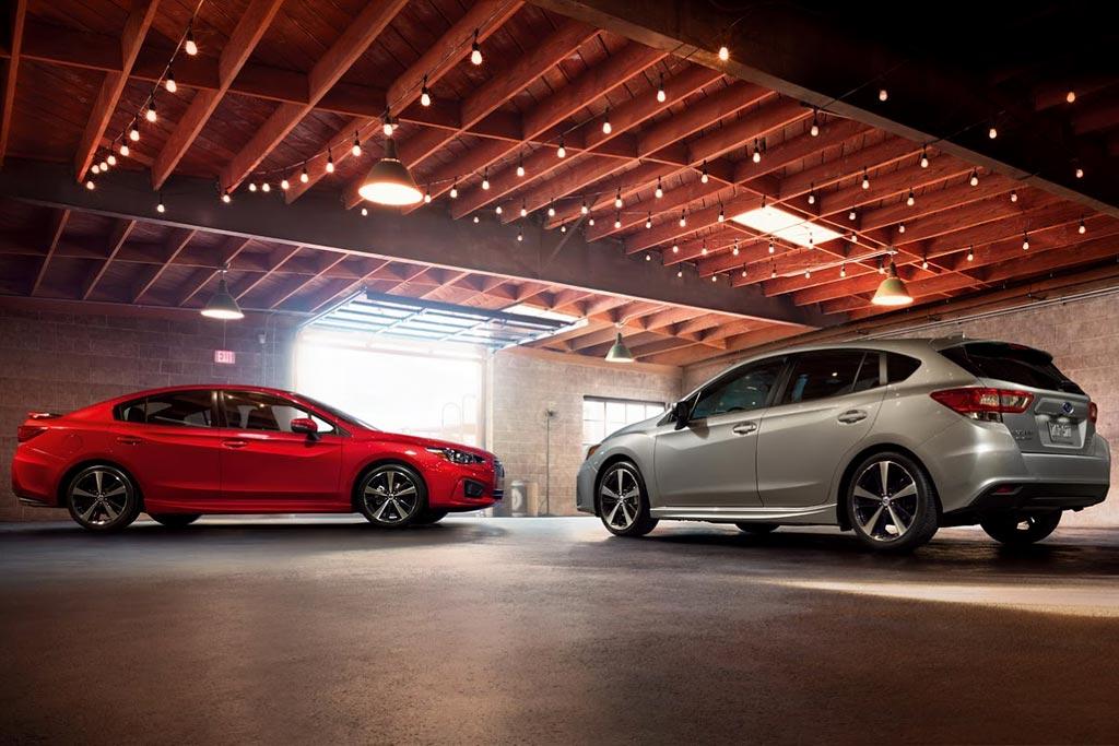 Новые седан и хэтчбек Subaru Impreza V