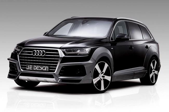 Новый Audi Q7 II в обвесе от JE Design