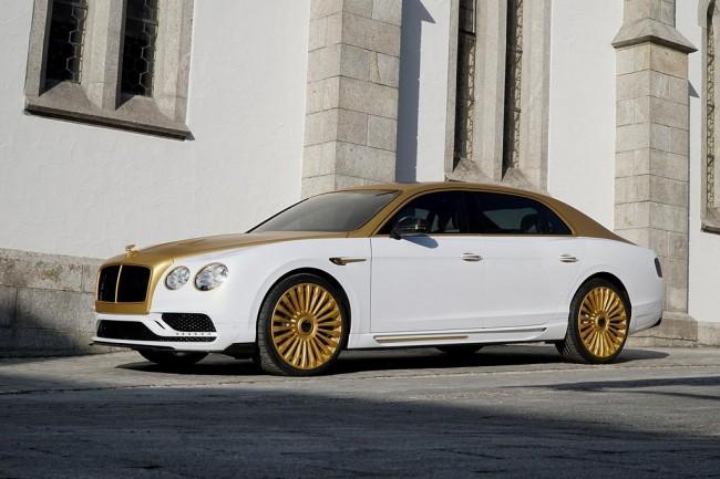 Bentley Flying Spur V8 от Mansory