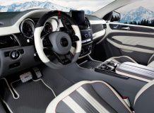 Тюнинг салона Мерседес-АМГ GLE 63 Coupe от Mansory