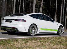 Обвес для Tesla Model S от Mansory фото
