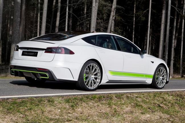 Tesla Model S от ателье Mansory