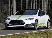 Диски на Tesla Model S от Mansory фото