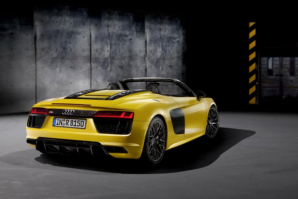 Audi R8 Spyder 2016 фото