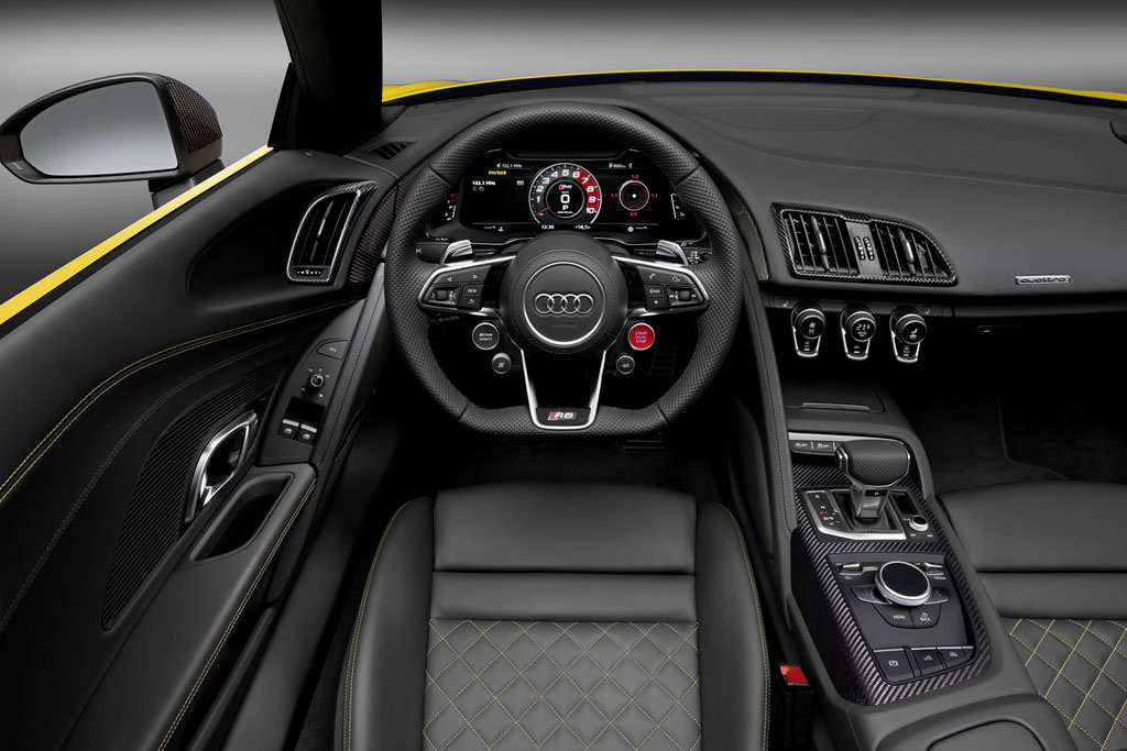 Фото салона Audi R8 Spyder II