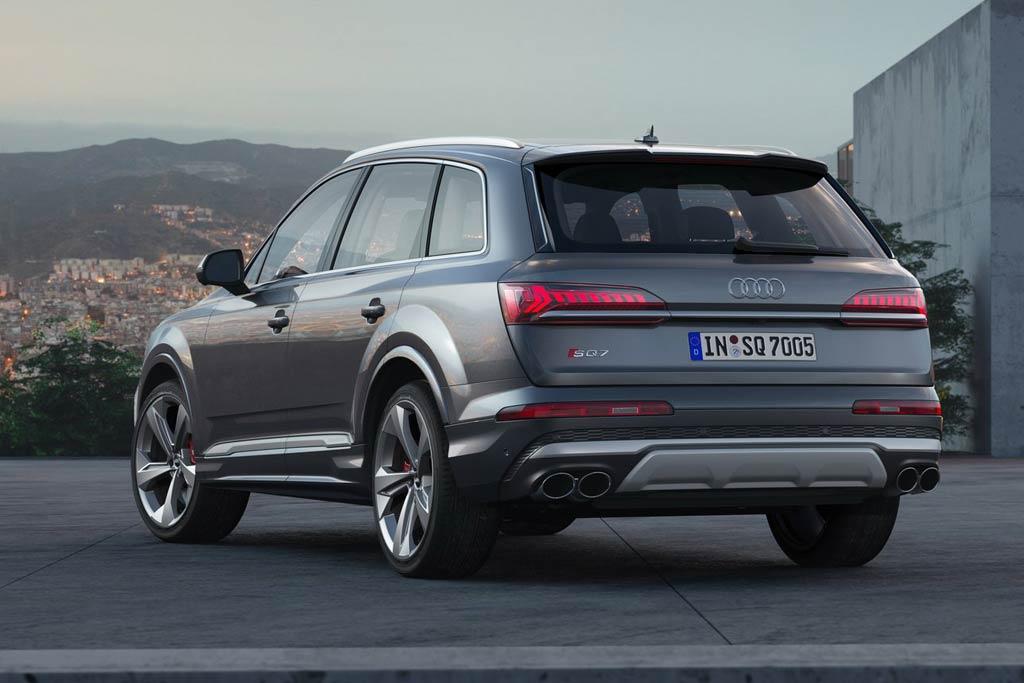 Новый Audi SQ7 2020 года