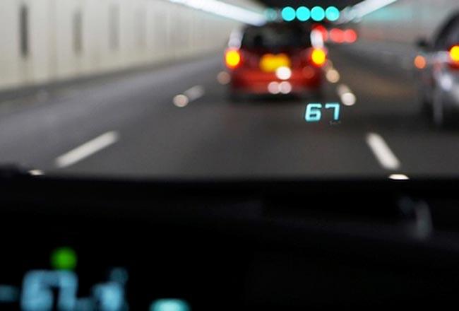 Умный проекционный дисплей Toyota
