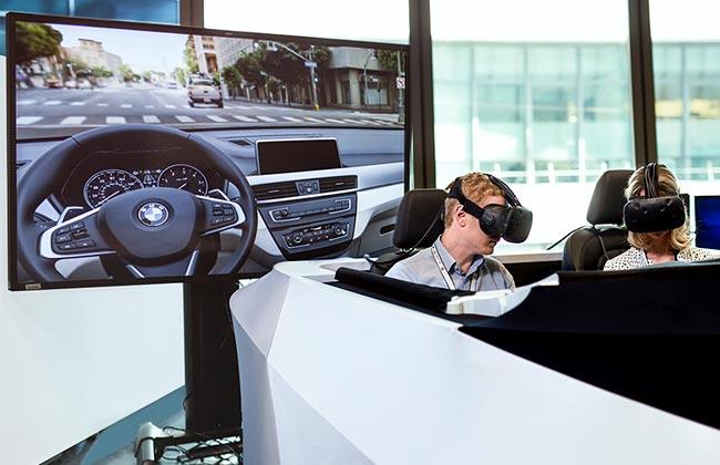 Шлемы виртуальной реальности BMW