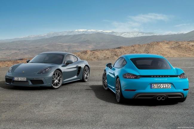 Новые Porsche 718 Cayman и Cayman S