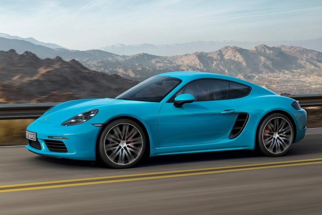 Новый Porsche 718 Cayman S