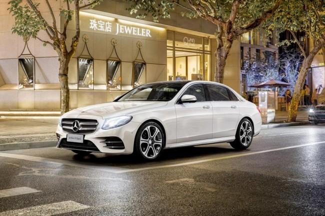 Удлиненный Mercedes E-Class L