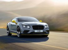 Bentley Continental GT Speed Black Edition фото