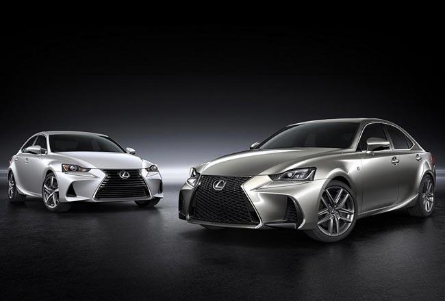 Обновленный Lexus IS 2017