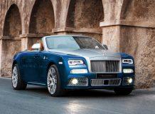 Тюнинг Rolls-Royce Dawn от Мансори фото