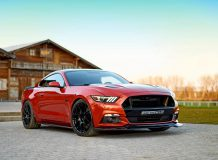 Фото тюнинг Ford Mustang GT от GeigrCars