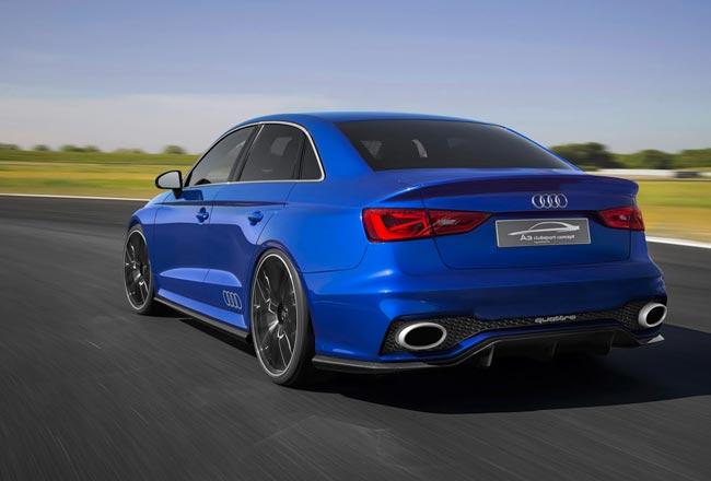 Так может выглядеть Audi RS3 Sedan