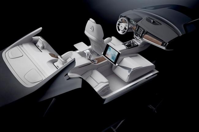 Интерьер Volvo S90 Excellence