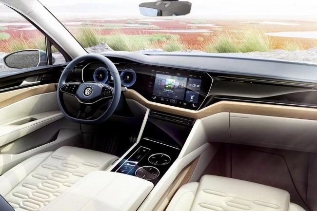 Салон VW T-Prime Concept GTE