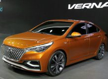 Hyundai Verna Concept фото