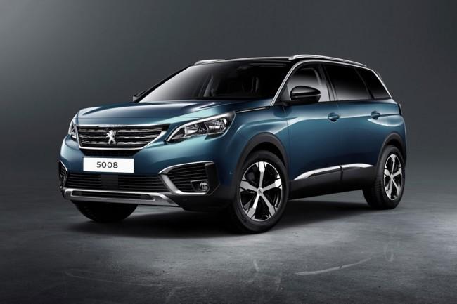Новый Peugeot 5008 II поколения