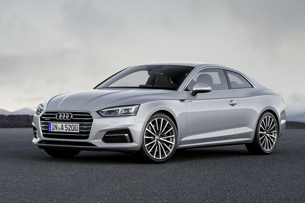 Audi A5 Coupe второго поколения
