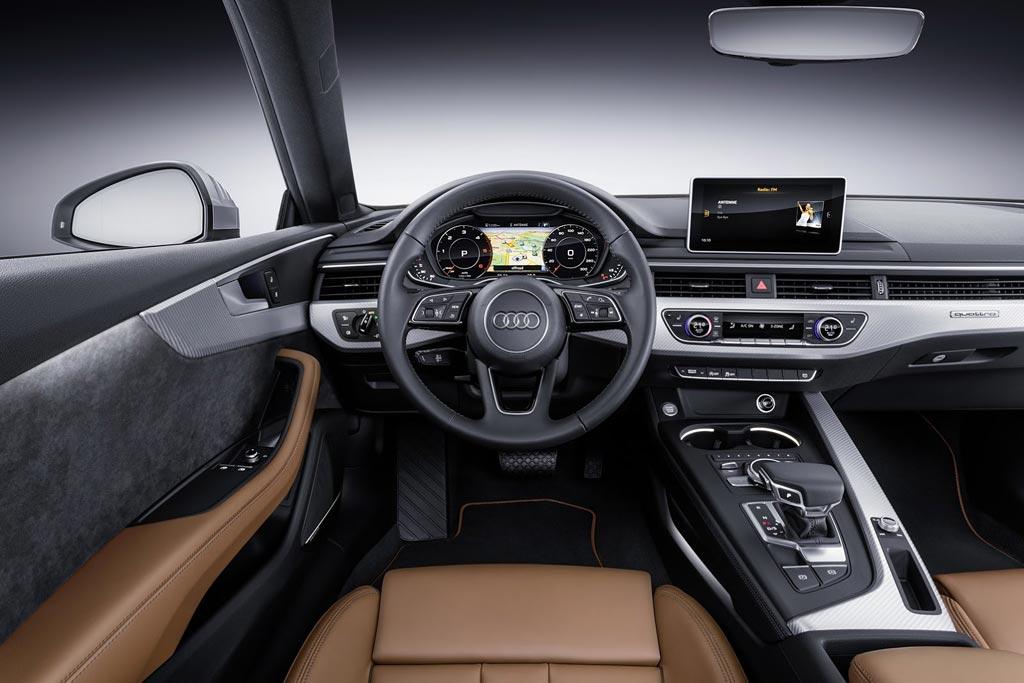 Салон Audi A5 Coupe II