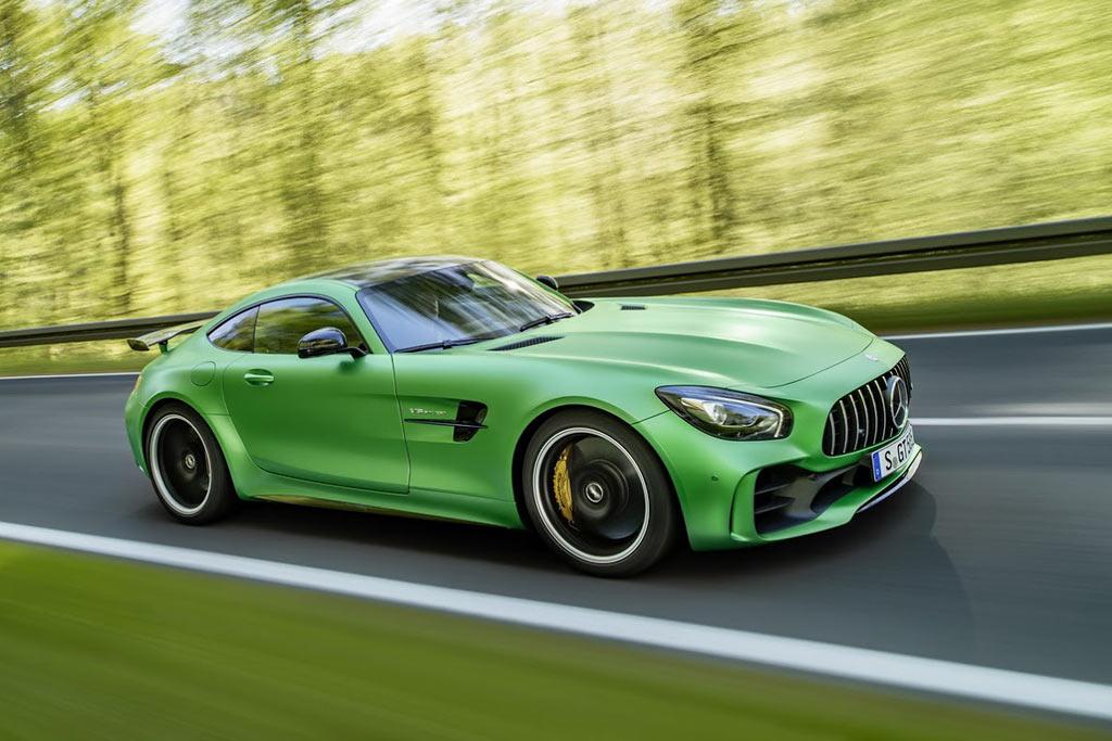 Трековое купе Mercedes-AMG GT R