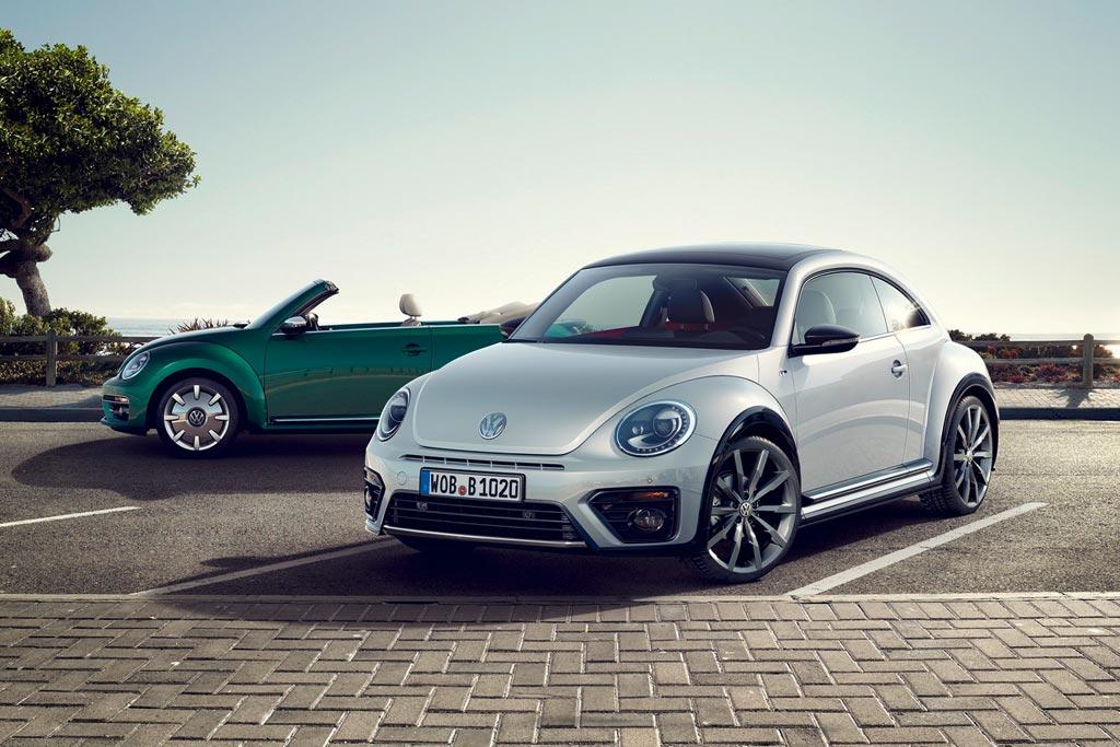Обновленные Volkswagen Beetle 2017
