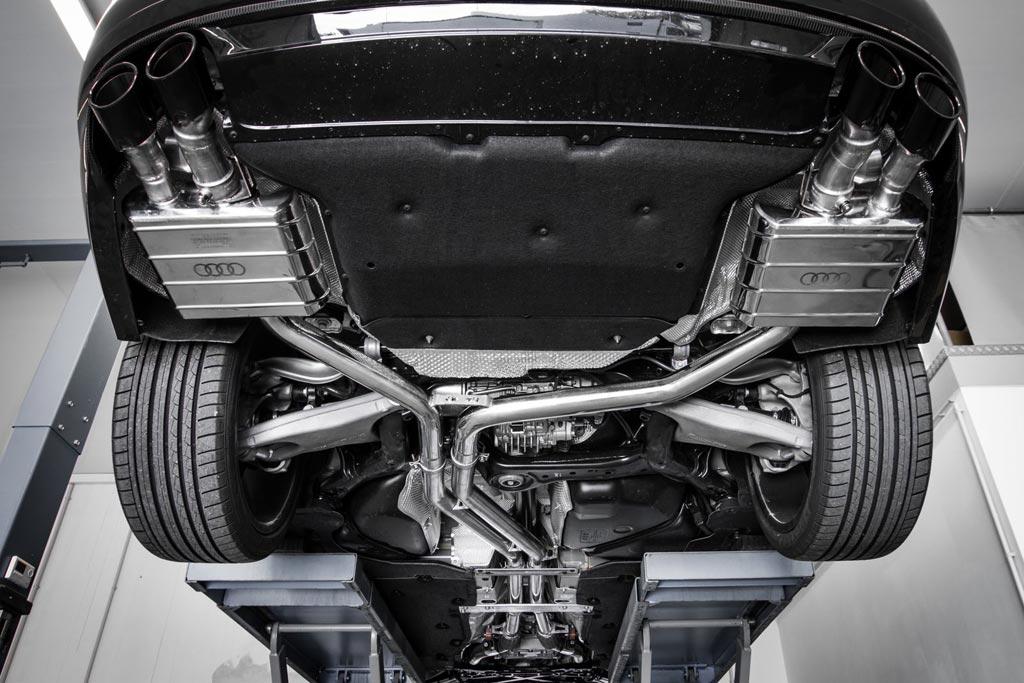 Выхлоп Capristo для Audi S8 plus