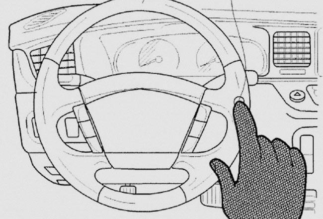 Тачпады на руле Hyundai