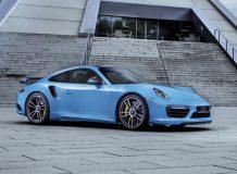 Фото тюнинг Porsche 911 Turbo S 2016 от TechArt