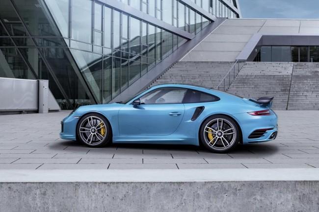 Новый Porsche 911 Turbo S от TechArt