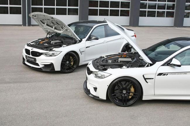 Тюнинговые BMW M3 и M4 от G-Power