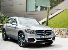 Mercedes GLC F-Cell 2018 фото