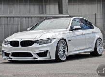Фото тюнинг BMW M3 F80 от Hamann