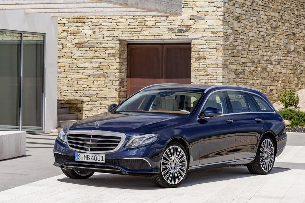 Новый Mercedes E-Class Estate S213