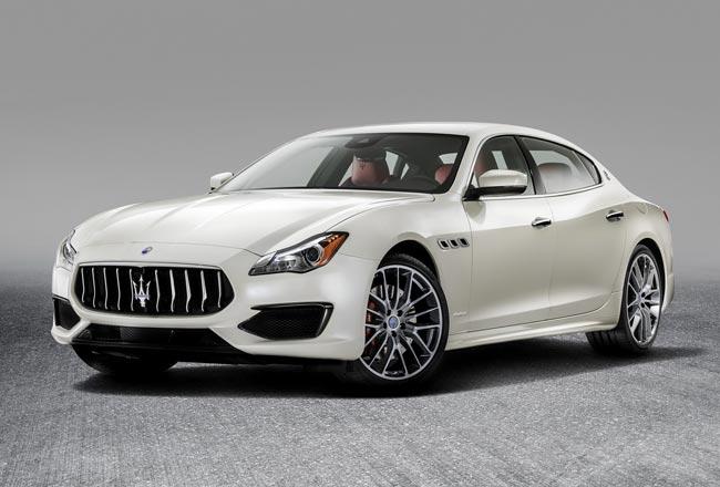 Maserati Quattroporte 2017 года