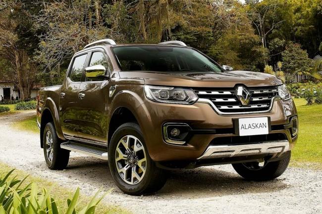 Новый пикап Renault Alaskan