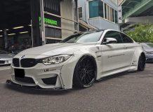 Фото тюнинг BMW M4 от Liberty Walk