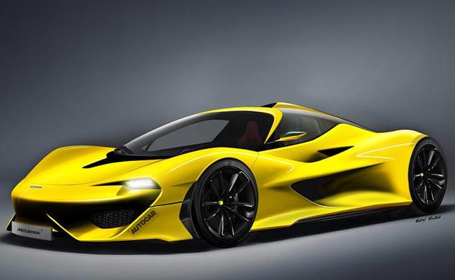 Рендер преемника McLaren F1