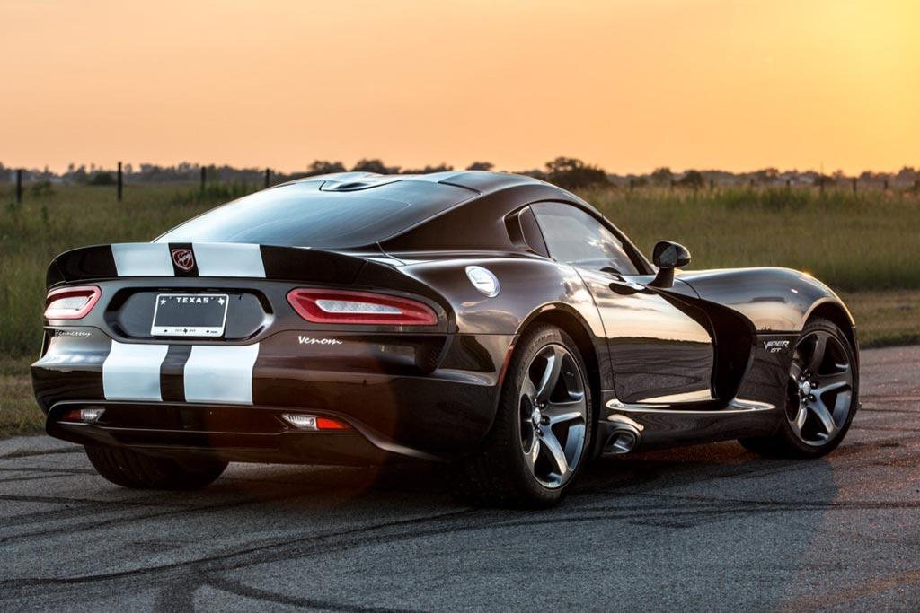 Dodge SRT Viper от ателье Hennessey