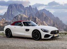 Фото нового Mercedes-AMG GT Roadster